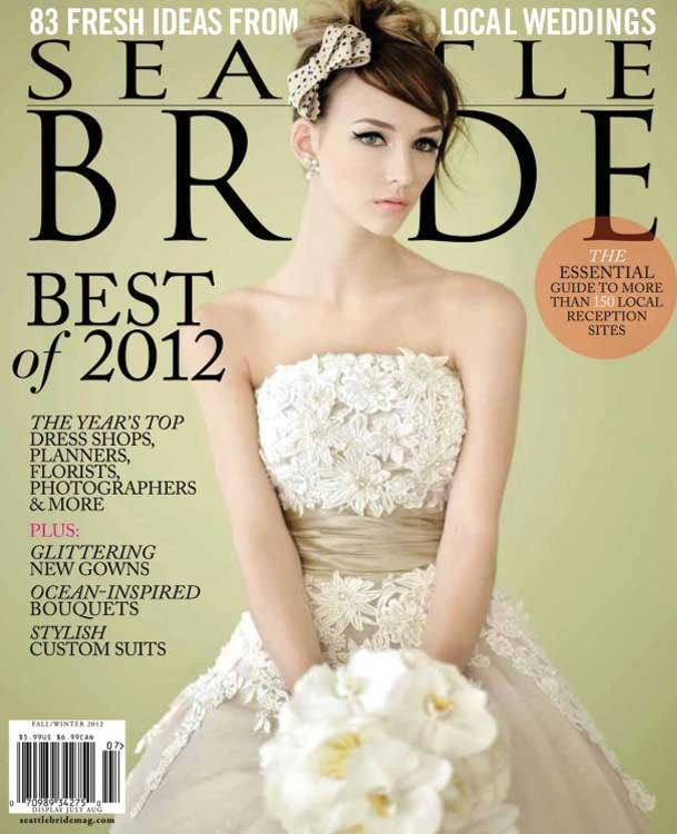 Seattle Bride Magazine Best of Bride winner 2012