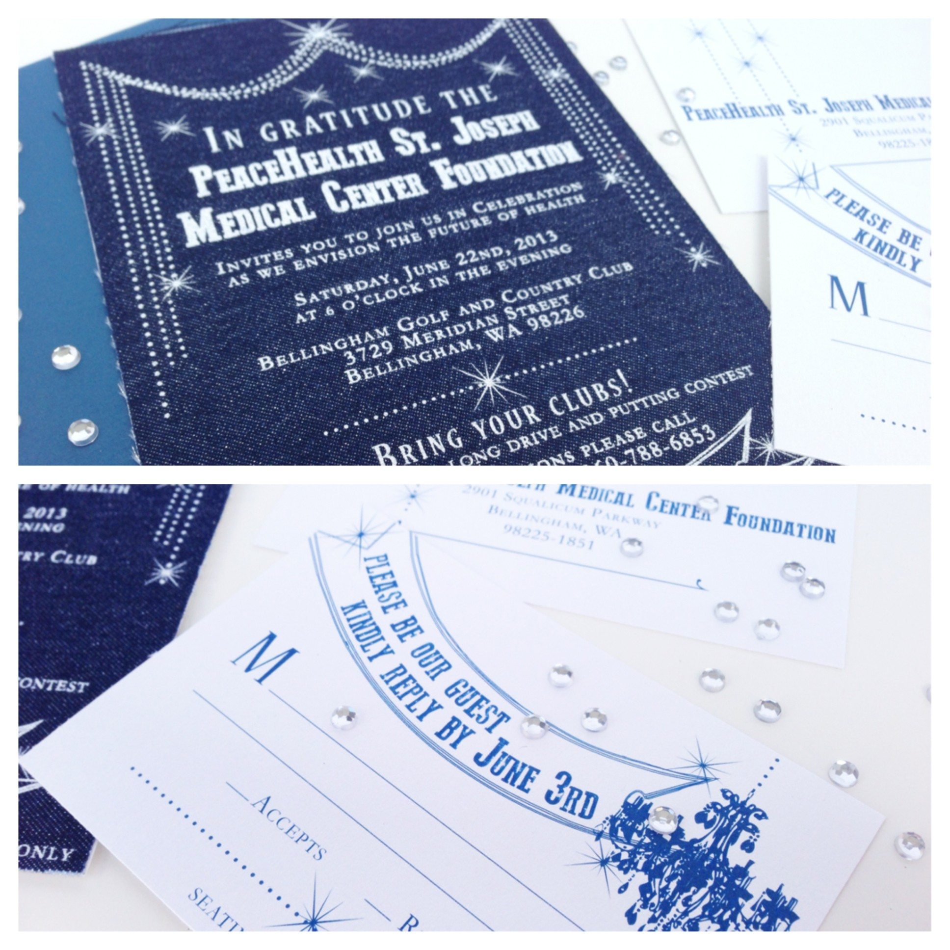 screen printed invitations